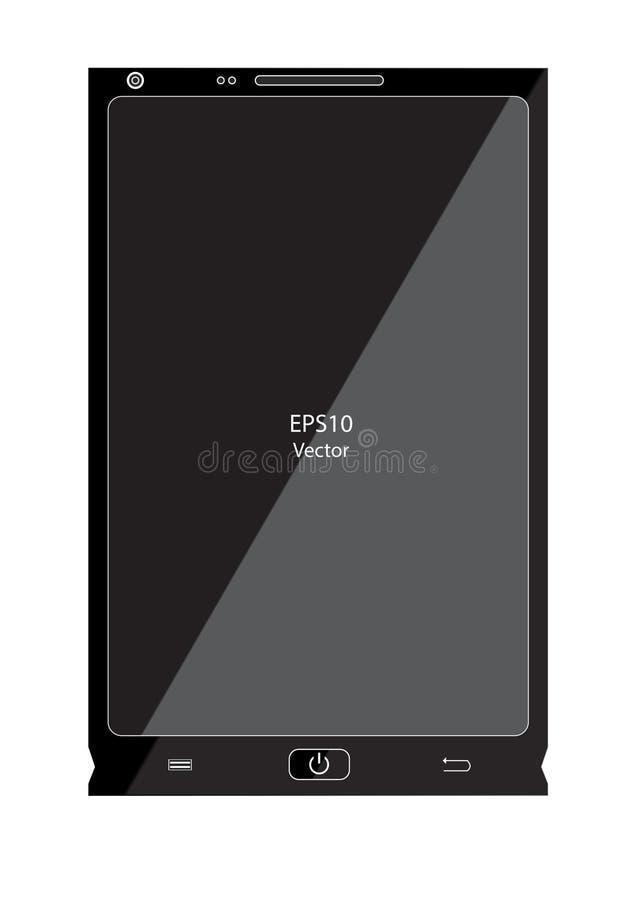 Mobile smartphone vector. Is a general illustration stock illustration
