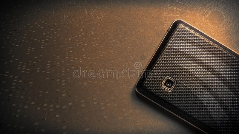 Mobile Techno Background. Abstract Mobile Techno Background, 3d design walpaper stock image