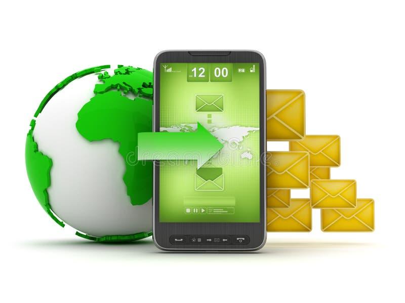 Download Mobile Technology - Concept Illustration Stock Illustration - Image: 24150631