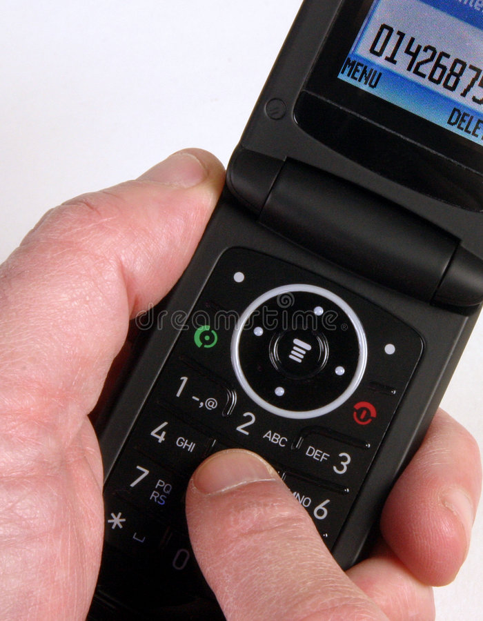 Mobile telephone stock photography