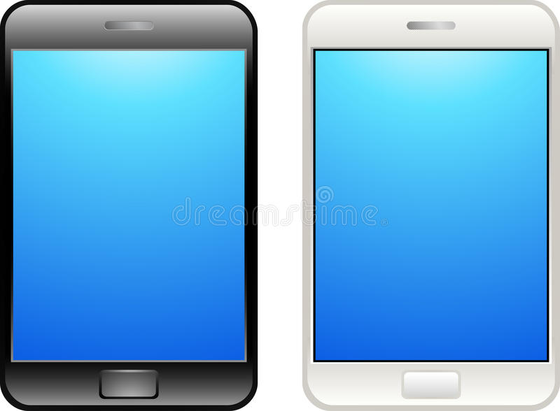 Mobile Touch Phone royalty free illustration