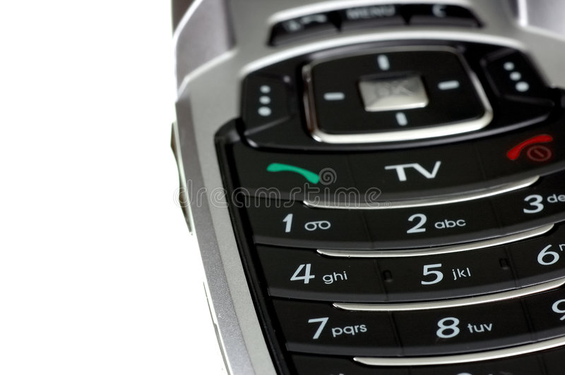 Download Mobile TV phone stock image. Image of cellular, phone - 2211043