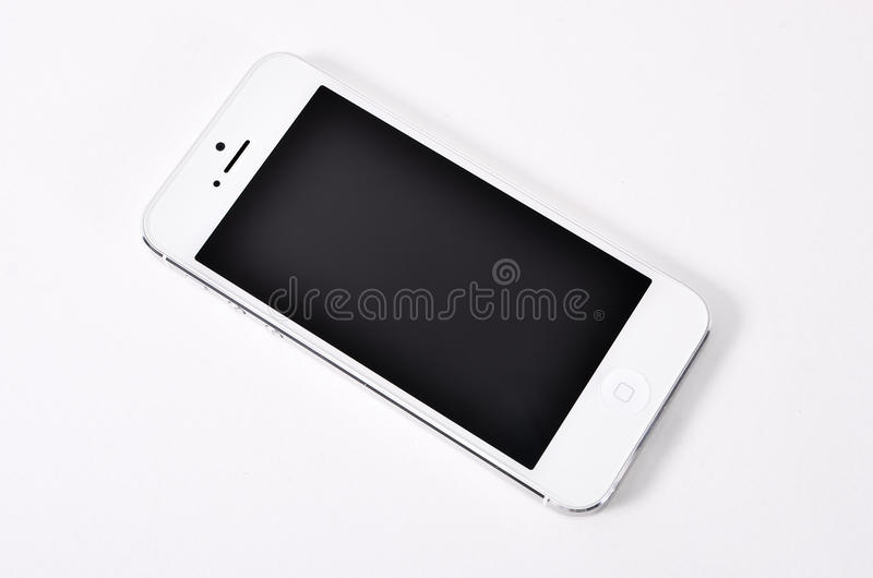 Download Mobile On White Background. Stock Image - Image: 32142081