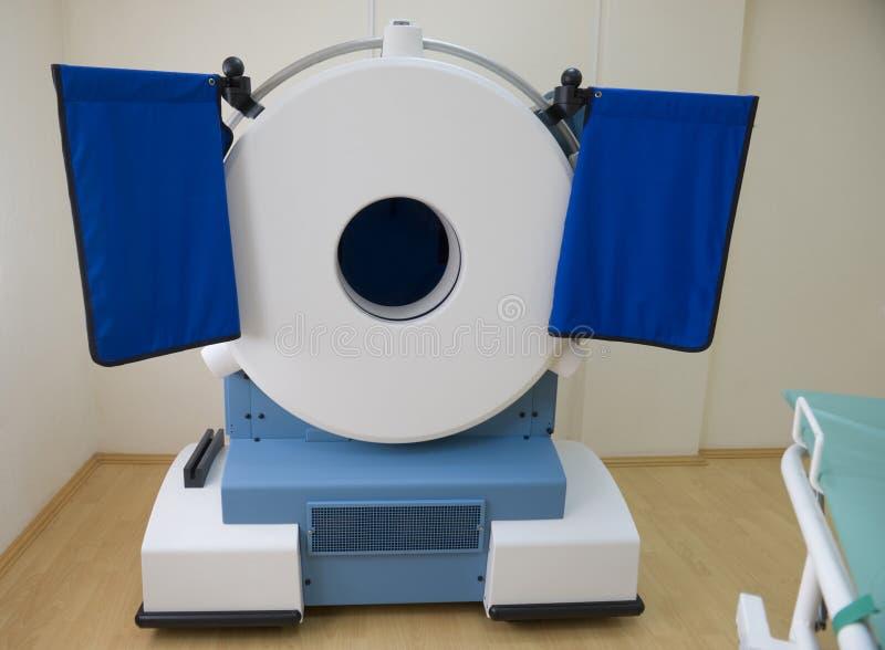 Mobiler CT-Scanner stockbilder