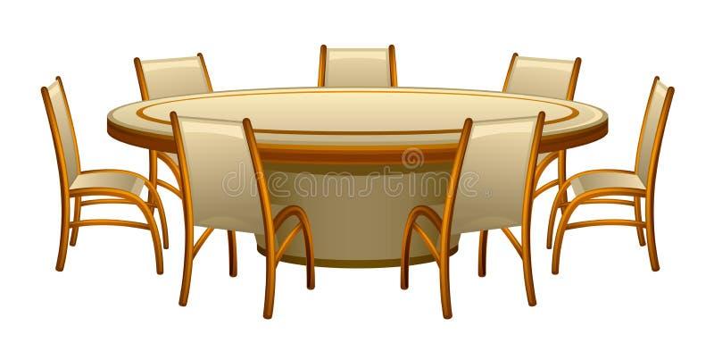 mobilia illustrazione vettoriale