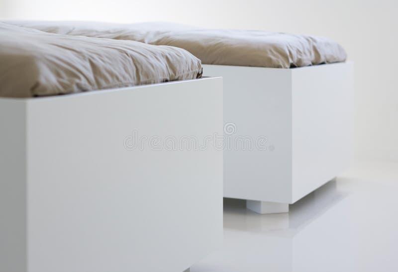 Mobilia bianca immagini stock