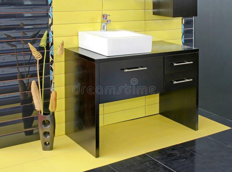 Mobilia della stanza da bagno fotografie stock libere da diritti