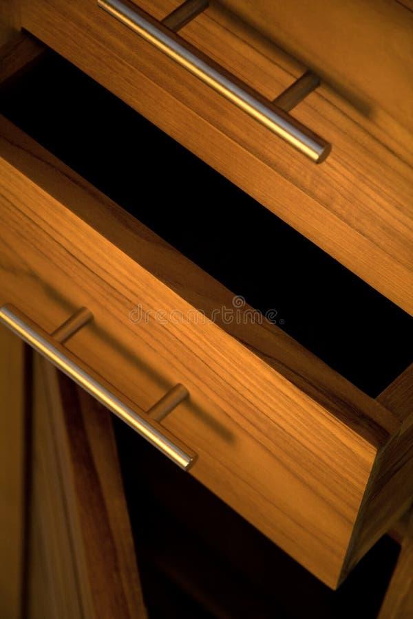 Mobilia di legno fotografie stock