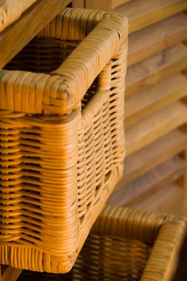 Mobilia di legno fotografie stock libere da diritti