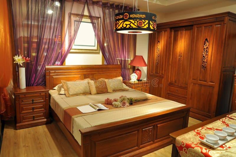 Mobilia tradizionale cinese fotografia stock