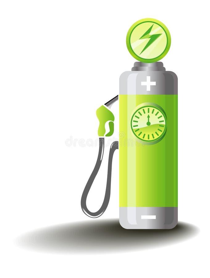 Mobilidade elétrica ilustração do vetor