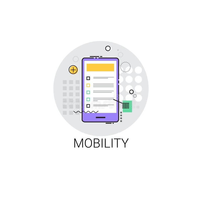 Mobility Icon Modern Smart Gadget. Vector Illustration stock illustration