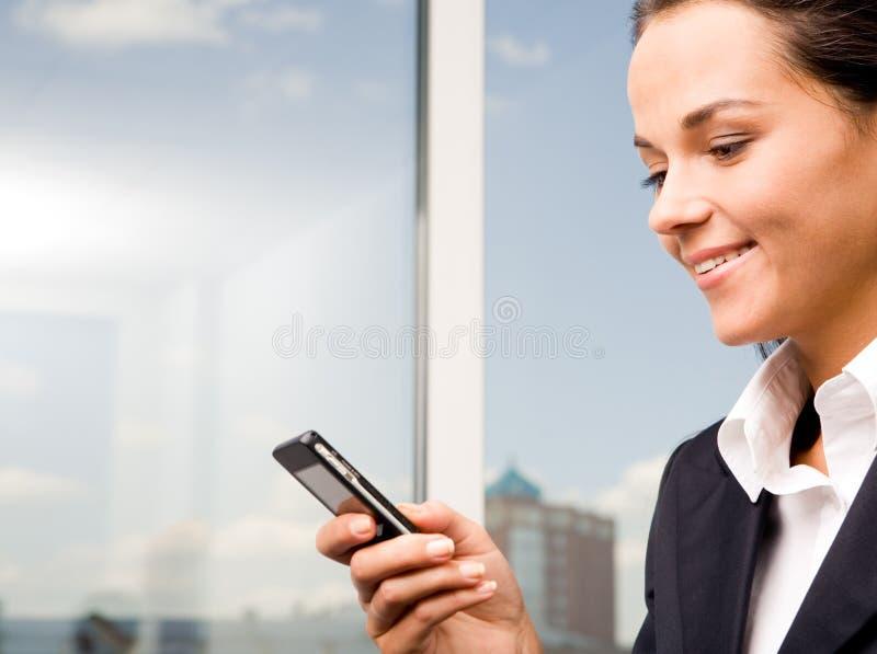 Mobilkommunikation stockfotografie