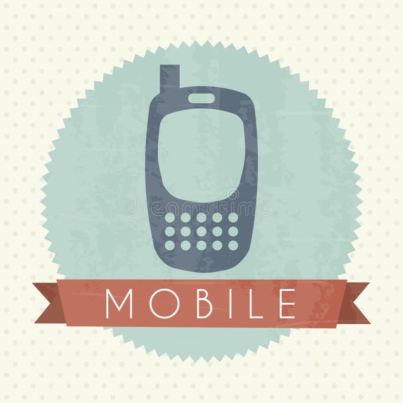 Mobilna ikona royalty ilustracja