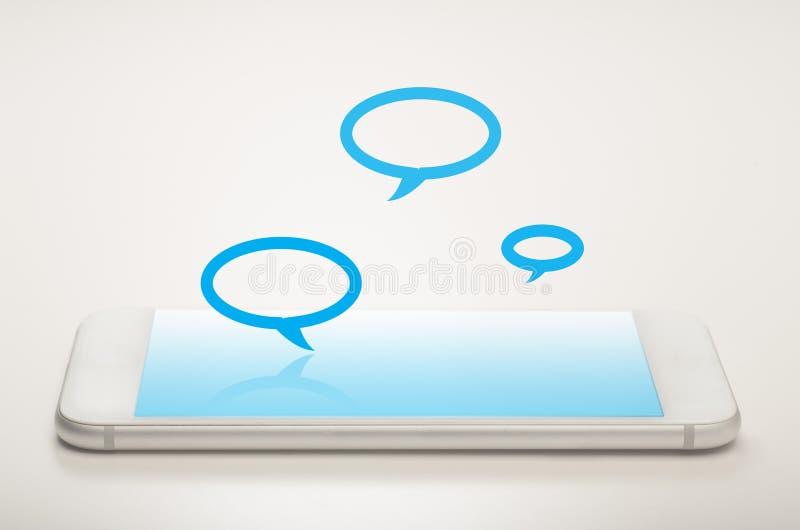 Mobilna przesyłanie wiadomości zdjęcia royalty free