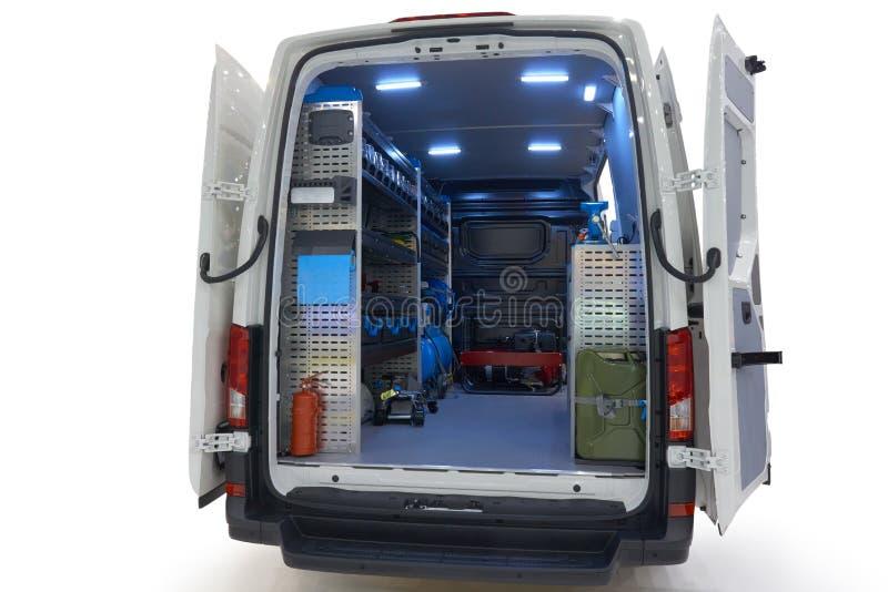 Mobilna samochód usługa fotografia stock