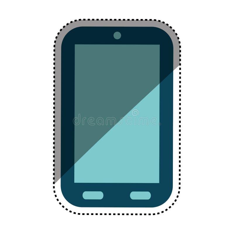 Mobilna smartphone technologia ilustracji