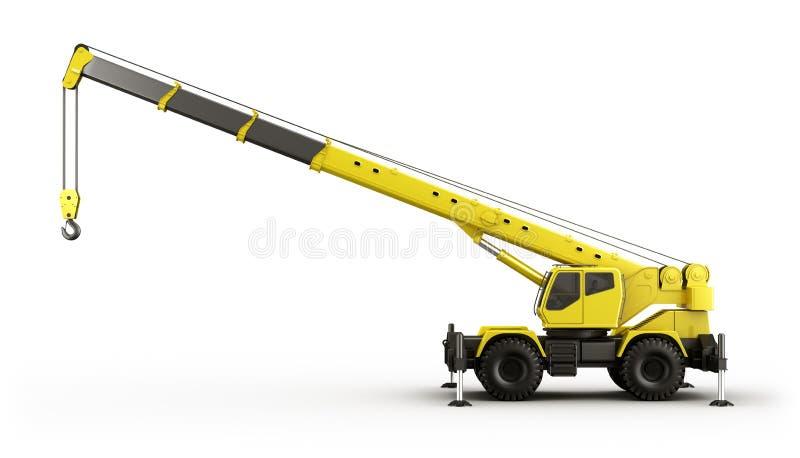 Mobilny Żuraw ilustracji