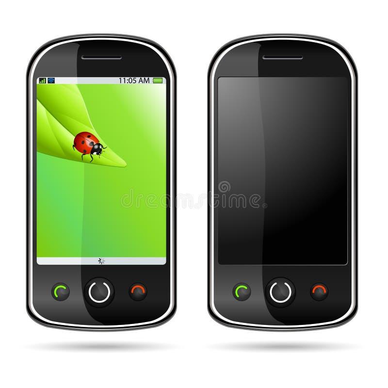 mobilny nowożytny telefon ilustracja wektor
