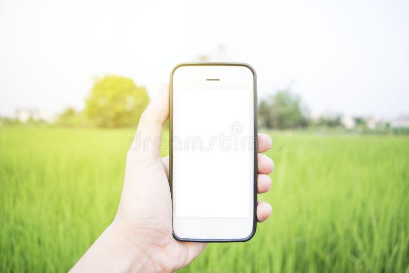 Mobilny use telefon zdjęcie royalty free