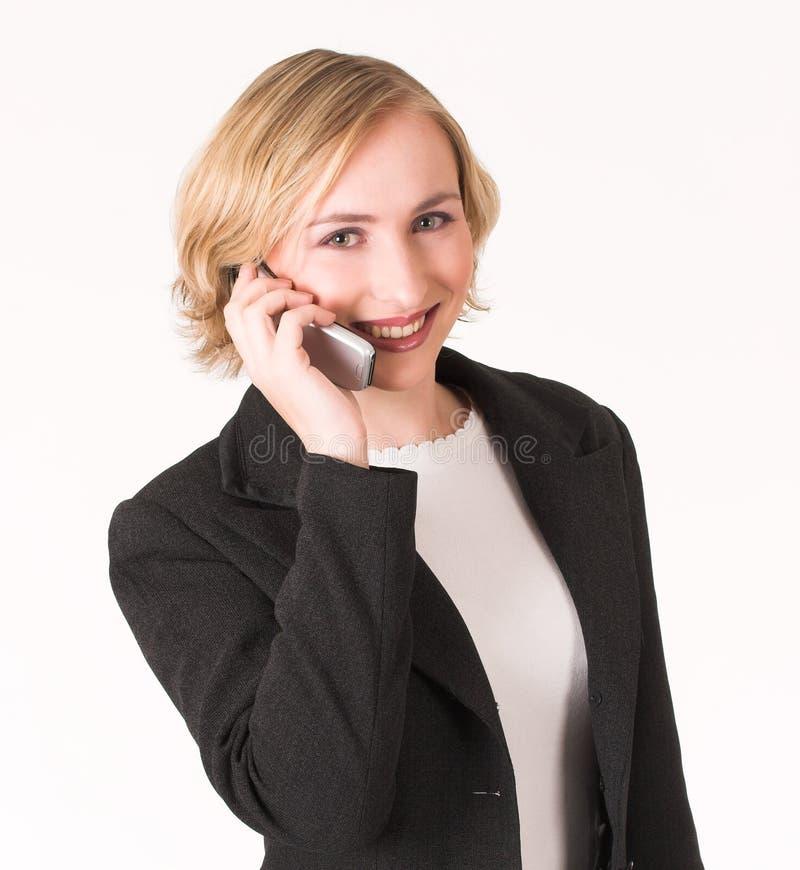 Mobiltelefon a stockbild