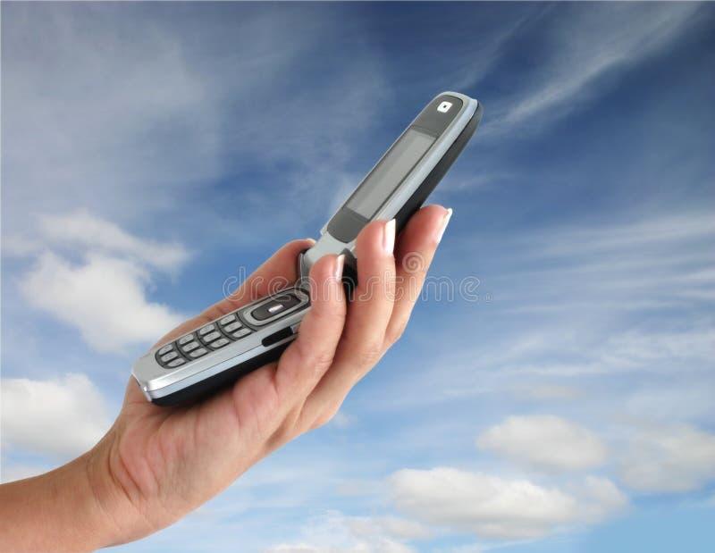 Mobiltelefon lizenzfreie stockfotos