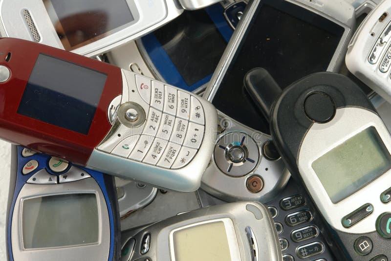 Mobiltelefone stockfoto
