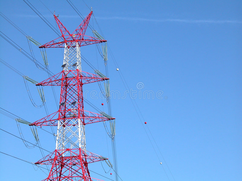 Download Moc linii zdjęcie stock. Obraz złożonej z elektryczność - 128058