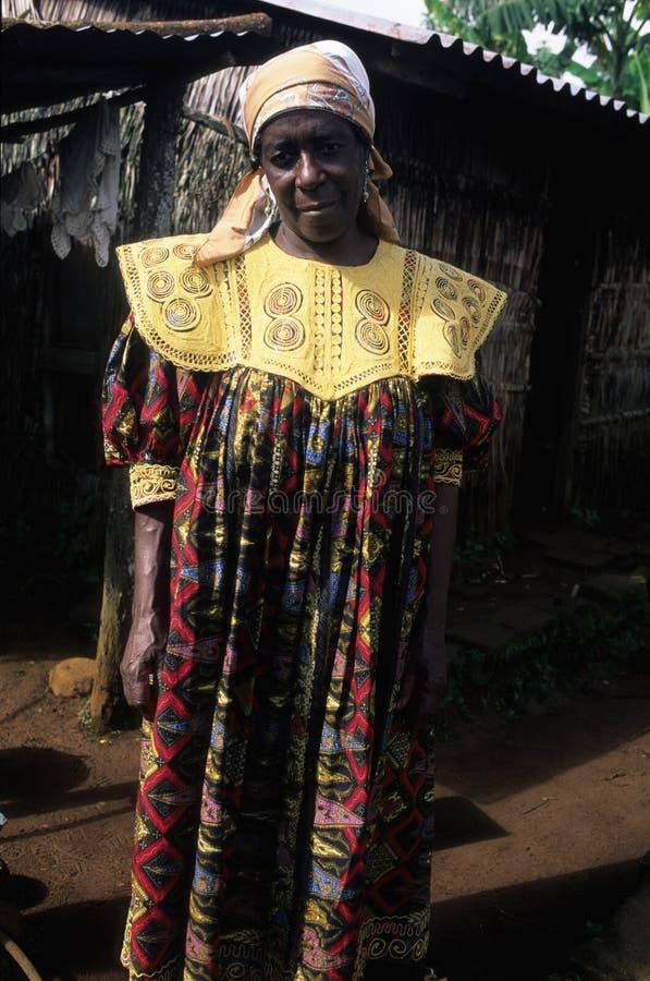 Moca - Guinée équatoriale photo libre de droits