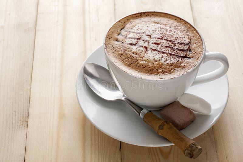 Mocaccino royalty-vrije stock afbeeldingen