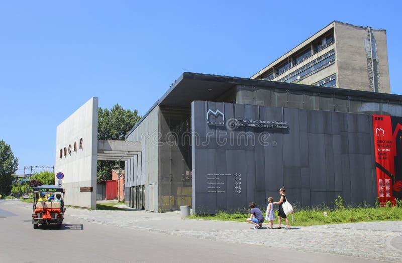 Mocak - μουσείο της σύγχρονης τέχνης στην Κρακοβία, Πολωνία στοκ φωτογραφία με δικαίωμα ελεύθερης χρήσης