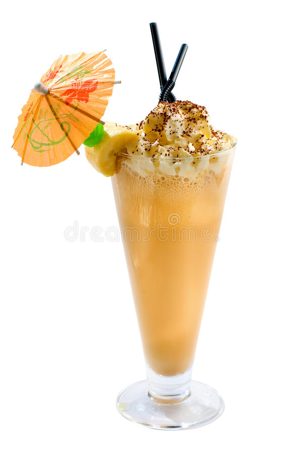 Mocha Shake Royalty Free Stock Photo
