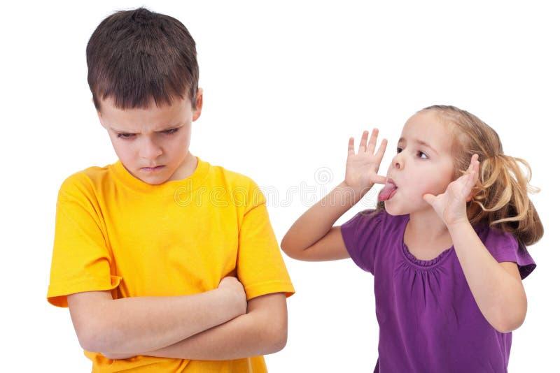 Download Mocking And Teasing Among Children Stock Image - Image: 26511037