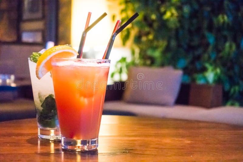 Mocktails fotos de archivo