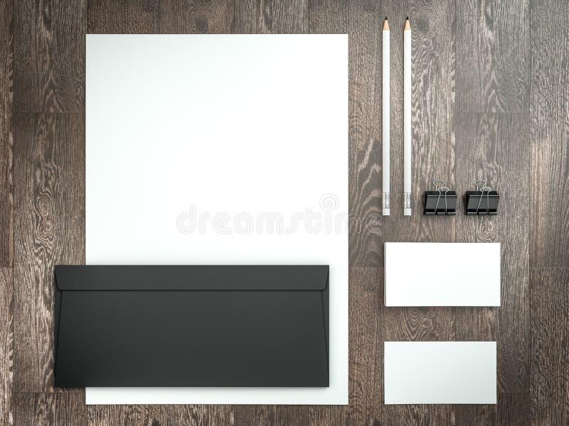 Mockup biznesu szablon Set elementy dla oznakować tożsamość zdjęcie royalty free