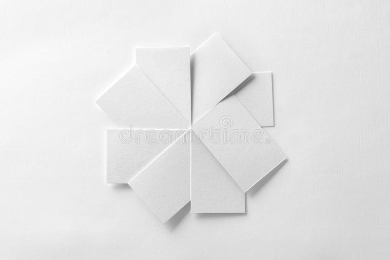 Mockup of blank business cards fan stack at white textured paper download mockup of blank business cards fan stack at white textured paper stock image image colourmoves