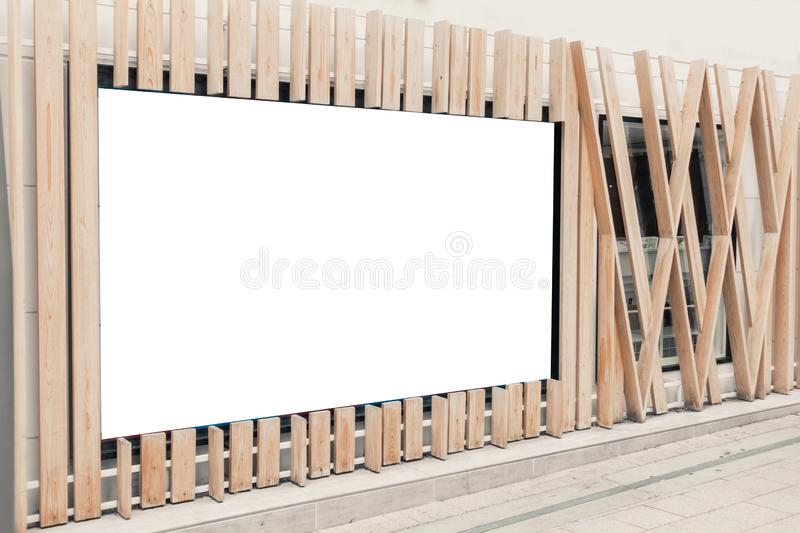 Mockup image of Blank billboard stock images