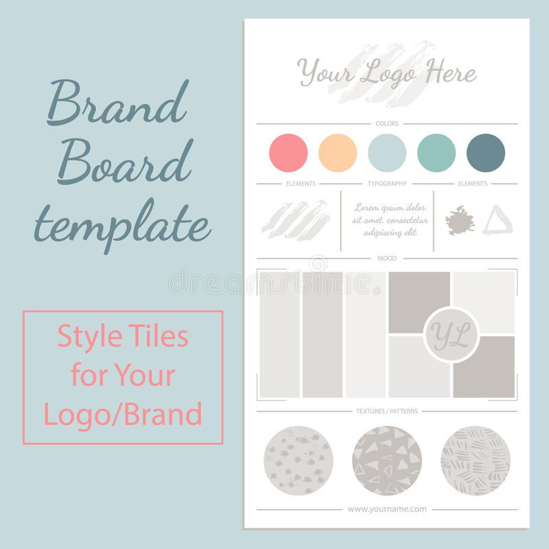 Mockup Vector Template Isolated On White. Stock Vector ...