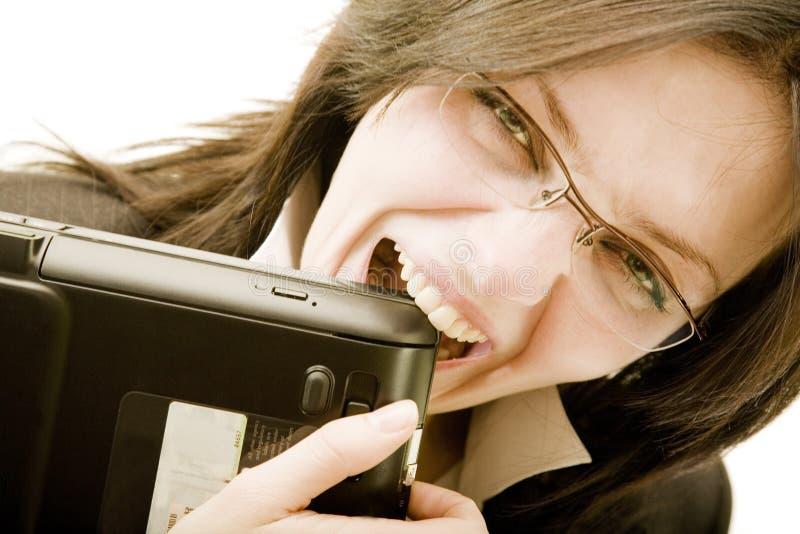 mocne zęby. zdjęcia stock