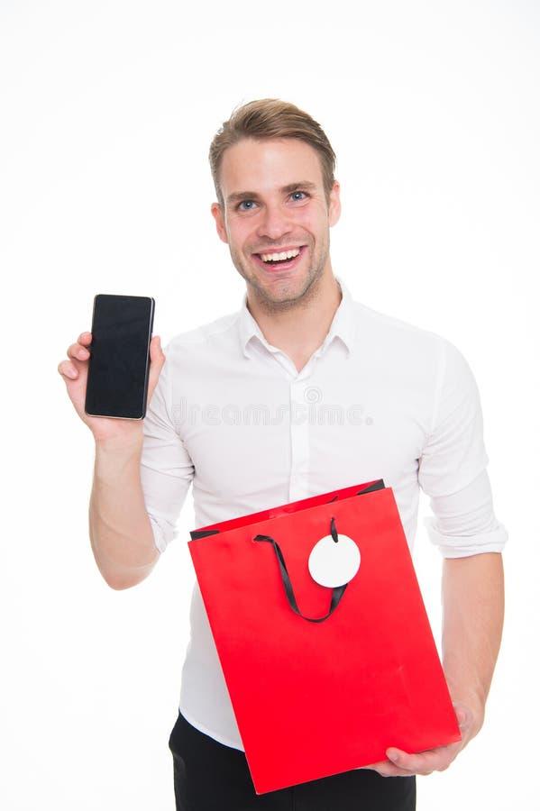 Mocno zarabiający gotówkowy i cenny czas ty jesteś spendings warty few minuty przygotowanie Robić zakupy online save czas facet obrazy stock
