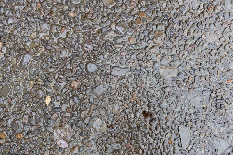 Moczy kamiennego podłogowego tekstury tło obrazy stock