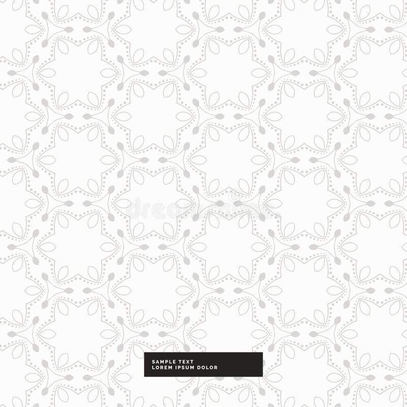 Modèle abstrait avec le fond gris-clair de couleur illustration de vecteur