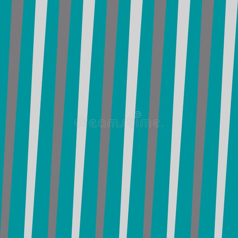 Modèle abstrait avec les lignes obliques avec le vecteur de tons de mer illustration de vecteur