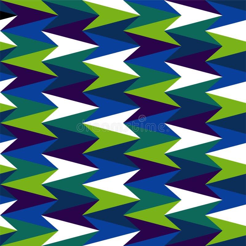 Modèle abstrait coloré illustration stock