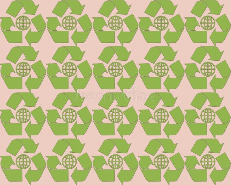 Modèle 2017 abstrait de fond de verdure du printemps illustration libre de droits