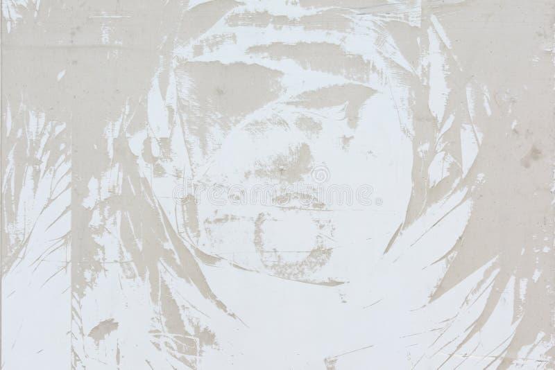 Modèle abstrait de la poussière, sur un mur beige pâle Fond vide, texture photographie stock libre de droits