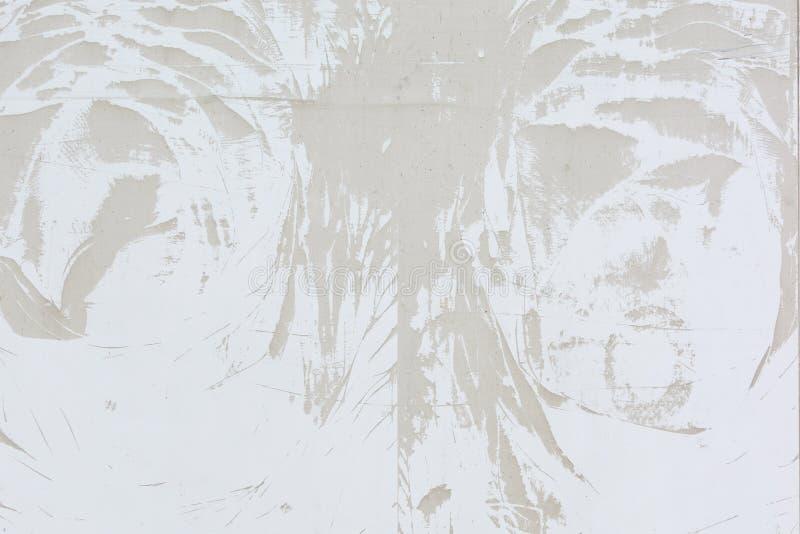 Modèle abstrait de la poussière, sur un mur gris pâle blanc de spirale de papier de cahier d'isolement par blanc de fond images libres de droits