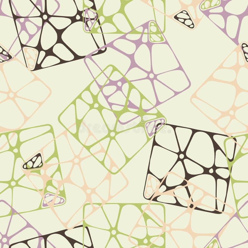 Modèle abstrait multicolore sans fin photo libre de droits