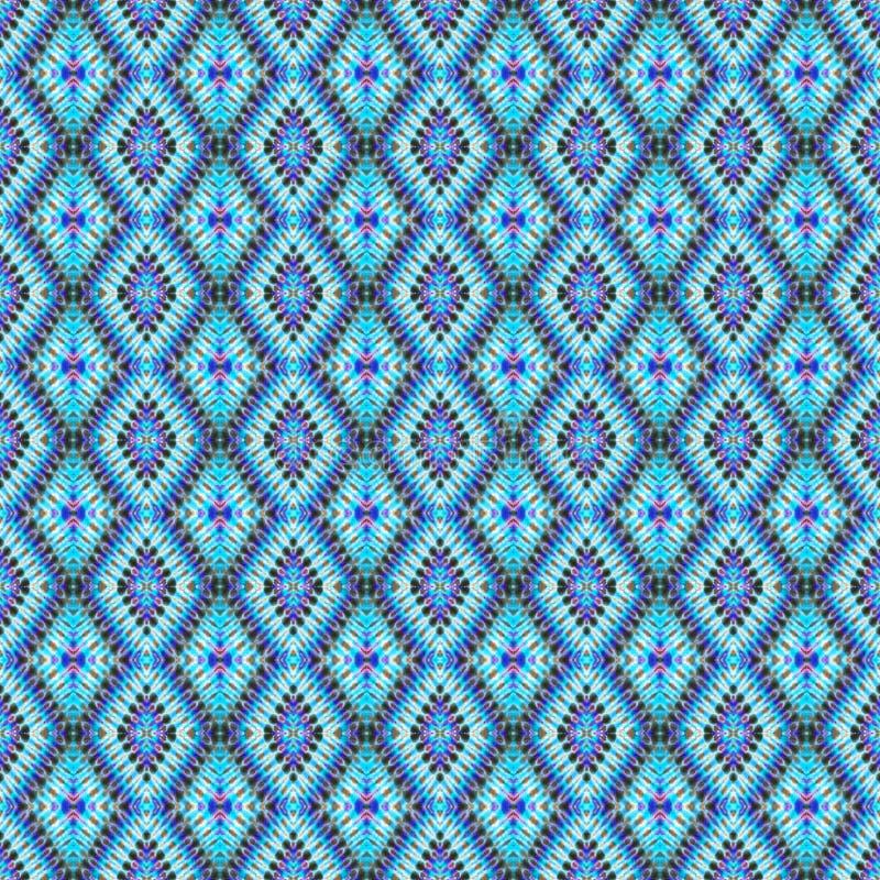 Modèle abstrait sans couture de colorant de lien de fond image stock
