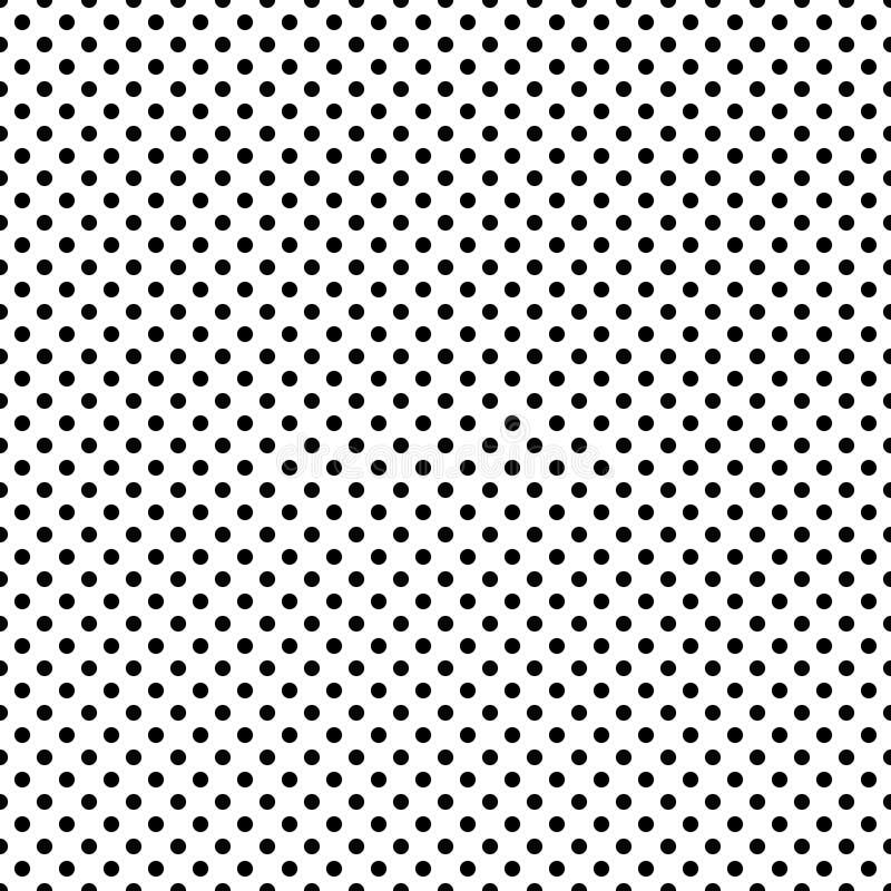 Modèle abstrait sans couture de vecteur noir et blanc Papier peint abstrait de fond Illustration de vecteur illustration de vecteur